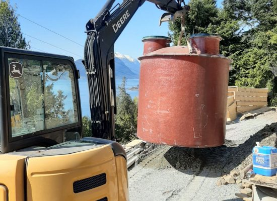 Placement of Septic Tank