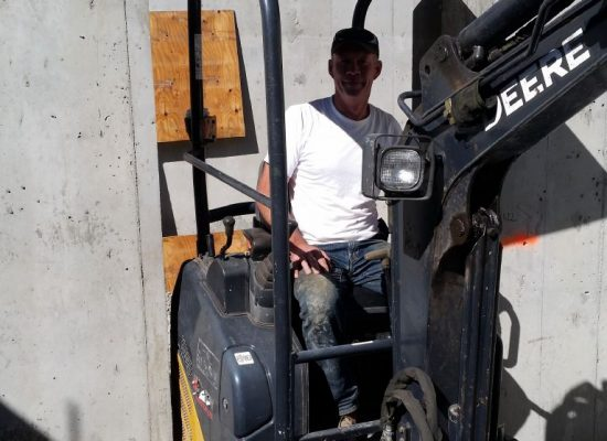 Mike Erickson of EricksonExcavating